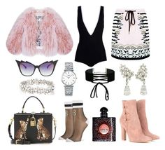 """""""#193"""" by twinklelady ❤ liked on Polyvore featuring Gianvito Rossi, Givenchy, Markus Lupfer, Dita, Dolce&Gabbana, Florence Bridge, Miss Selfridge, Monique Péan, Yves Saint Laurent and Longines"""