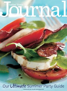 Have you gotten your hands on our Ultimate Summer Entertaining Guide? Join our Facebook fan club and download it for free: https://www.facebook.com/lhjmagazine HINT: It's filled with great recipes for the grill, plus fun sides like this layered BLT salad.