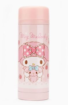 #MyMelody looks so sweet on this stainless steel drink bottle