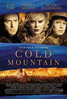 """BEST SONG NOMINEE: Scarlet Tide and You Will Be My Ain True Love both from """"Cold Mountain""""."""