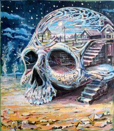 Sun Skull by chrissukut
