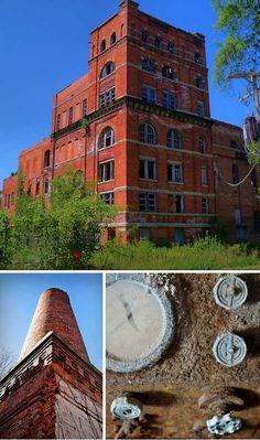 Old Gebhard Brewery – Morris, Illinois, USA