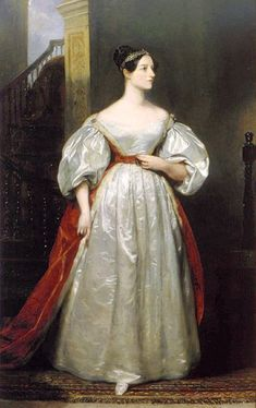 """Ada Byron, Lady Lovelace, widely considered to have developed the first """"computer program"""" . . . in 1843!"""