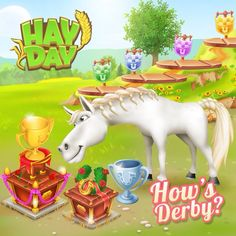...... Hay Day, Christmas Ornaments, Games, Holiday Decor, Fun, Ideas, Christmas Ornament, Gaming, Toys