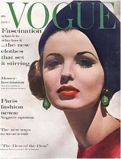 Vintage Vogue magazine covers - mylusciouslife.com - Vintage Vogue September 1961.jpg