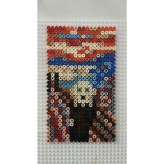 The Scream (Edvard Munch) hama beads by mellyagmur
