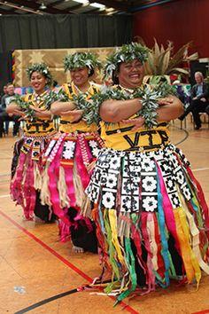 Tuvalu traditional dance performance.