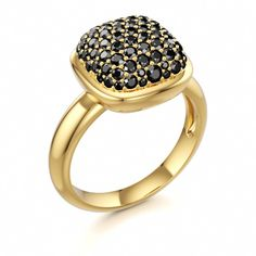 Black Diamonds!! OBSESSED. The anti wedding ring