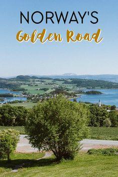 The Golden Road (also called Golden Detour) in Trøndelag, Norway Northern Lights Norway, Artist Workshop, Norway Travel, Tromso, Historical Monuments, Trondheim, Cultural Experience, Lofoten, The Visitors