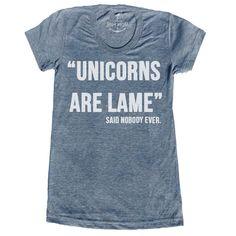 eu.Fab.com | Unicorns Tee Grey