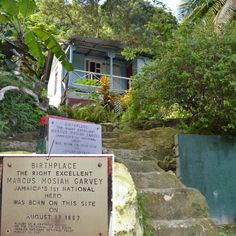 The birthplace of our first national hero Marcus Garvey in St. Ann Jamaica