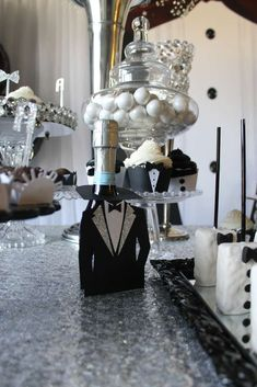 Gabriela Events's Birthday / Tuxedo - Photo Gallery at Catch My Party Adult Birthday Party, Birthday Dinners, Birthday Party Favors, Birthday Decorations, Husband Birthday, Man Birthday, Decoration For Ganpati, Great Gatsby Party, Party Themes