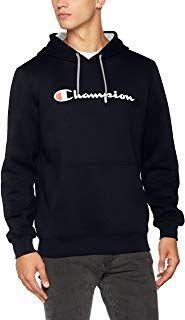 Champion Classic Logo Sweat Shirt À Capuche pour Homme (avec