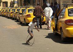 Boy playing with a hoop, Asmara, Eritrea | Flickr - Photo Sharing! Eric Lafforgue (c)