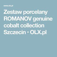 3955e5c92e7fd78 Zestaw porcelany ROMANOV genuine cobalt collection Szczecin • OLX.pl