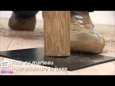 Comment fabriquer une lampe en bois flotté - YouTube