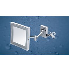 "Kich Bathroom Mirror with LED Light 8.5"" In Glossy Finish"