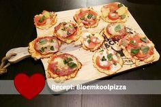 Recept: Bloemkoolpizza gebaseerd op Pauline's keuken - Mamaliefde