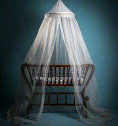 Ciel de lit anti onde pour bébé. <3