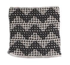 Free Knitting Pattern: Crystal Beach Washcloth