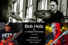 Bob Holz and A Vision Forward featuring Ralphe Armstrong(Frank Zappa/Aretha Franklin/Mahavishnu Orchestra) and Chet Catallo (Spyro Gyra) at Funk 'n Waffles - Downtown,