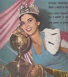 Luz Marina Zuluaga.... Miss Universe 1958  from Colombia