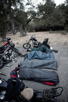 Want to know more about motorcycle camping long distance Click the link for more. Motorcycle Camping, Camping Gear, Motorcycle Adventure, Vintage Motorcycles, Hd Motorcycles, Vintage Bikes, Biker Style, Bike Life, Cool Bikes