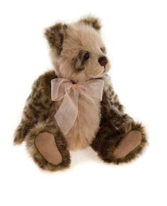 Charlie Bears Plush Olive Bear - 2015