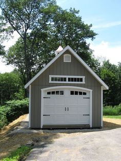 Find more ideas: Farmhouse Detached Garage With Apartment Small Detached Garage Makeover Plans 2 Car Simple Detached Garage Ideas Modern Detached Garage With Breezeway Large Backyard Detached Garage Garages, Plan Garage, Garage Door Styles, Car Barn, Garage Remodel, Large Backyard, Rustic Backyard, Backyard Ideas, Sloped Backyard