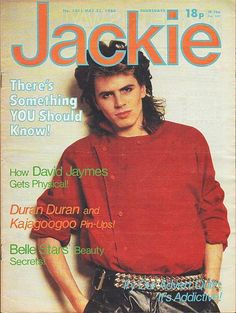 Jackie Magazine 21 May 1983 - John Taylor Duran Duran