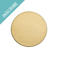 Origami Owl Inscriptions® Large Gold Stainless Steel Plate