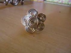 """Résultat de recherche d'images pour """"bijoux en fil d'aluminium tuto"""" …"""