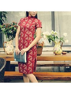 #4318560 #AnnularRings #Qipao #Cheongsam -  Chinese Red Vintage Dress as Chinese Boutiques. Exiquisite Red Robes -qipao online,  qipao modern,  modern qipao,  chinese qipao dresses,  shanghai qipao,  qipao shanghai,  qipao in singapore,  qipao singapore,  qipao wedding dress,  red qipao,