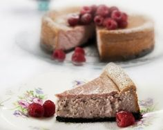 Rachel Allen's raspberry and white chocolate cheesecake is perfect to mark a…