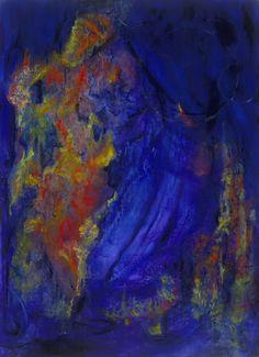 acrylic on canvas  34 x 44   interperception  sold