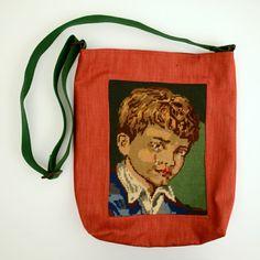 Tas met borduurwerk van Zigeunerjongen