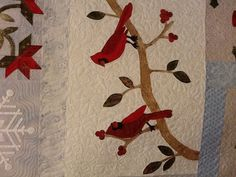 Christmas quilt, quilting by Sheri Zalar (309)-698-0398