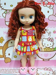 Disney animators doll Merida