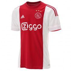 Dit is het @adidas #Ajax #thuisshirt van het 2015-2016 voetbalseizoen. Steun jouw favoriete #voetbalclub met dit Ajax voetbalshirt.