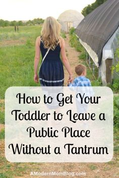 how to stop temper tantrums and fussing from your toddler and young children when leaving the park with this simple parenting tips for moms
