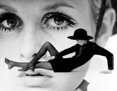 Twiggy photographed by Gosta Peterson for New York Times, 1967.