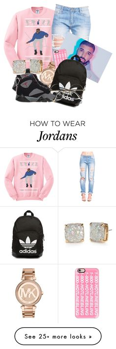 """And I Know When Those Sleigh Bells Ring"" by samijah on Polyvore featuring moda, Michael Kors, Casetify, Retrò, adidas Originals e Kate Spade"