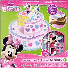 "EZ Mosaics Decorate-A-Cake Activity - Minnie Mouse Bow-tique - Tara Toys - Toys ""R"" Us"