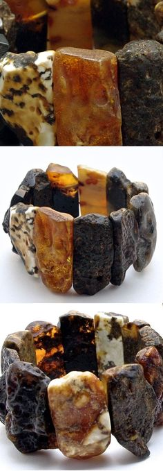 raw amber bracelet by Neshka #jewelryinspo #gemstonejewelry #amberjewelry #stunningaccessories