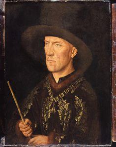 Jan van Eyck, Portrait of Baudouin de Lannoy, 1435