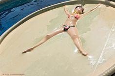 dreamerinchastity: Sunbathing and bondage… what...