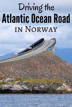 Driving the Atlantic Ocean Road in Norway