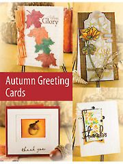 Card Making & Paper Crafts - Autumn Greeting Cards