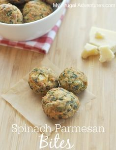 Parmesan Spinach Bites Recipe {Perfect Party Appetizer}