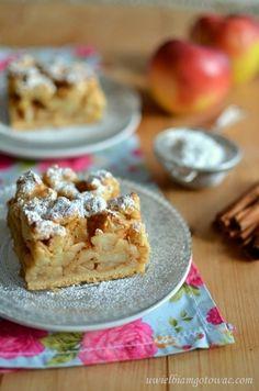 Szarlotka na kruchym cieście Krispie Treats, Rice Krispies, Cake & Co, Pastry Cake, Pastry Recipes, How To Make Cake, French Toast, Breakfast, Food